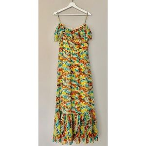 Nymphe | Off The Shoulder Maxi Dress | Size Large